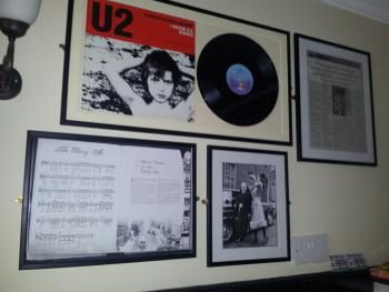 Enjoy reading about Derrys rich musical history in the Abbey studio Tea room