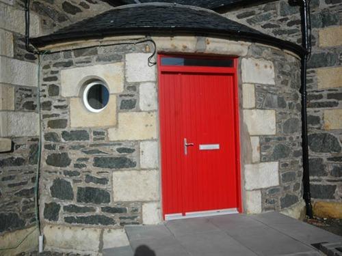 Front Door of School