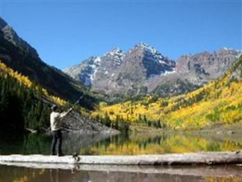 Maroon Bells in fall...don't miss it!