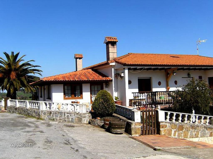 Exterior de la Casa Rural La Pradería