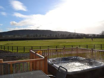Red Kite Luxury 3 Bedroom 2 Bathroom Lodge with Private Hot Tub