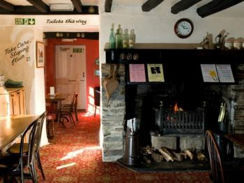 Our traditional bar with open fire