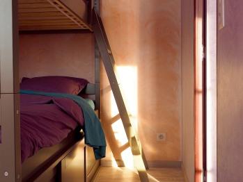 Les Coûtas - chambre familiale - chambre enfants (lit superposés)