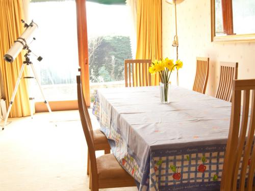 Eat Breakfast in our Spacious Dining Room