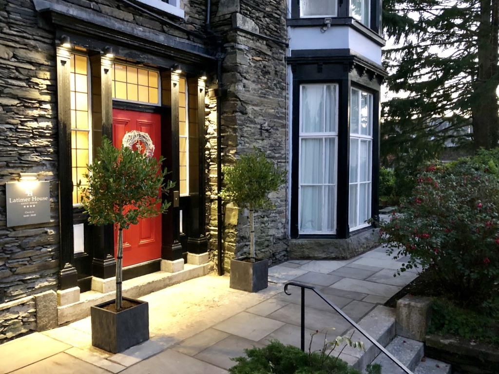 Latimer House main Entrance