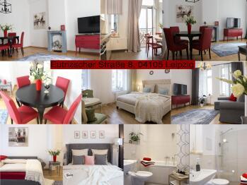 Apartment-Deluxe-Eigenes Badezimmer-Eutritzscher Strasse 8  - Basistarif