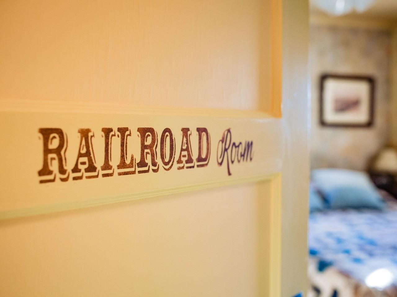 Railroad Room.