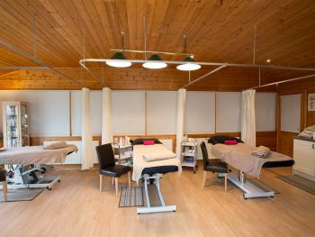 Treetops Spa/treatment room next in the leisure complex