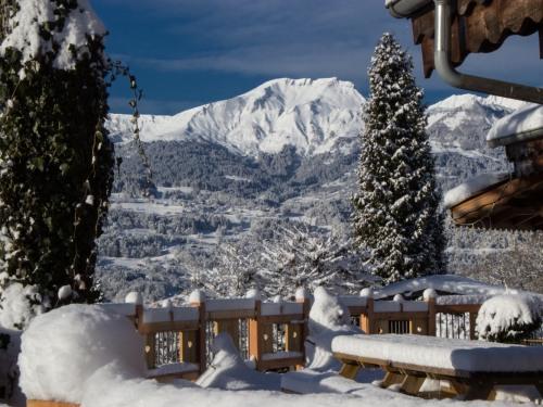 l'une des vues des greniers du Mont-blanc