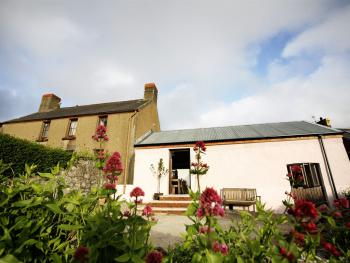 Blas Gwyr - An 18th Century farmhouse on the outside, a stylish modern boutique bed and breakfast on the inside