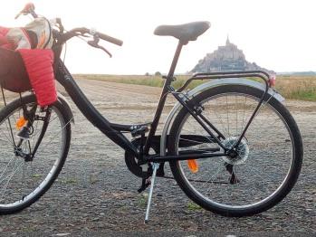 A vélo - au jardin
