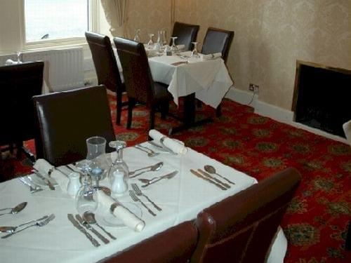 Formal dining at the Liddesdale