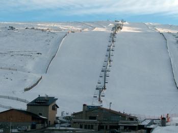 """Zona/Estación de Esquí """"La Covatilla"""""""