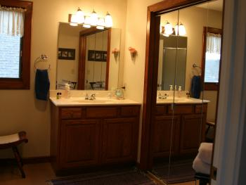 Mackinaw Room private restroom