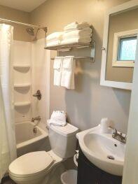 Hotel 2nd Floor Bathroom