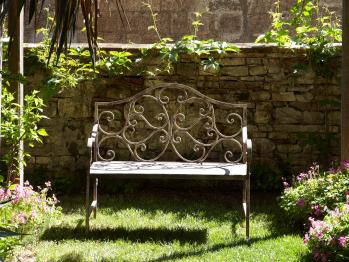Un angolo tranquillo del giardino