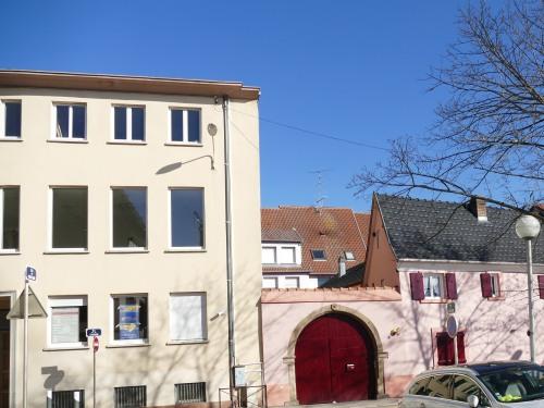 vue côté sud de la résidence