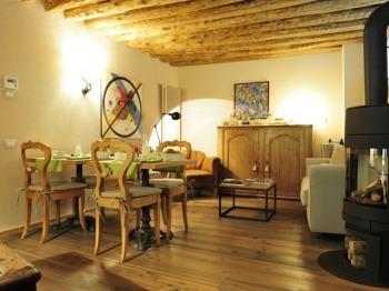 sala colazione camere Salvia e Lampone