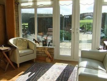 Conservatory, books, dvds and games