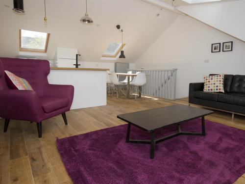 Openplan loft living room