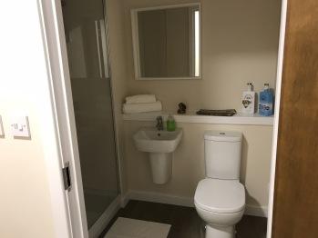En-suite private shower rooms