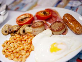 The Award Winning Full Cornish including local eggs, sausages, bacon and hogs pudding