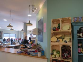 All food served in our cafe is freshly cooked with locally sourced produce