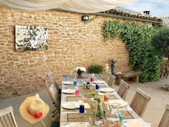 Table diner extérieur