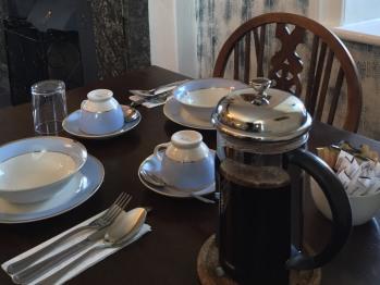 Breakfast in the tearoom
