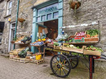 Hay-on-Wye - Castle Greengrocer