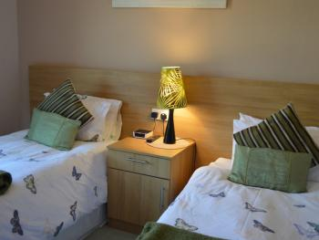Bramble Corner Room Only Guest Accommodation - Ground Floor Twin Room with Private Bathroom