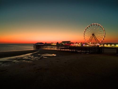 Blackpool Pleasure beach view