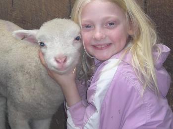 Lambing season is always exciting.