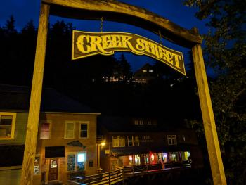 Creek Street is a great place to spend some time