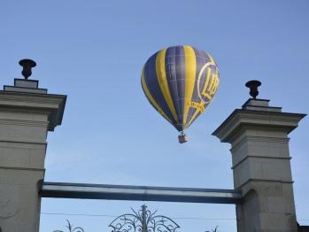Vol de montgolfière au dessus de La Pénesais