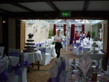 Wedding in Conservatory