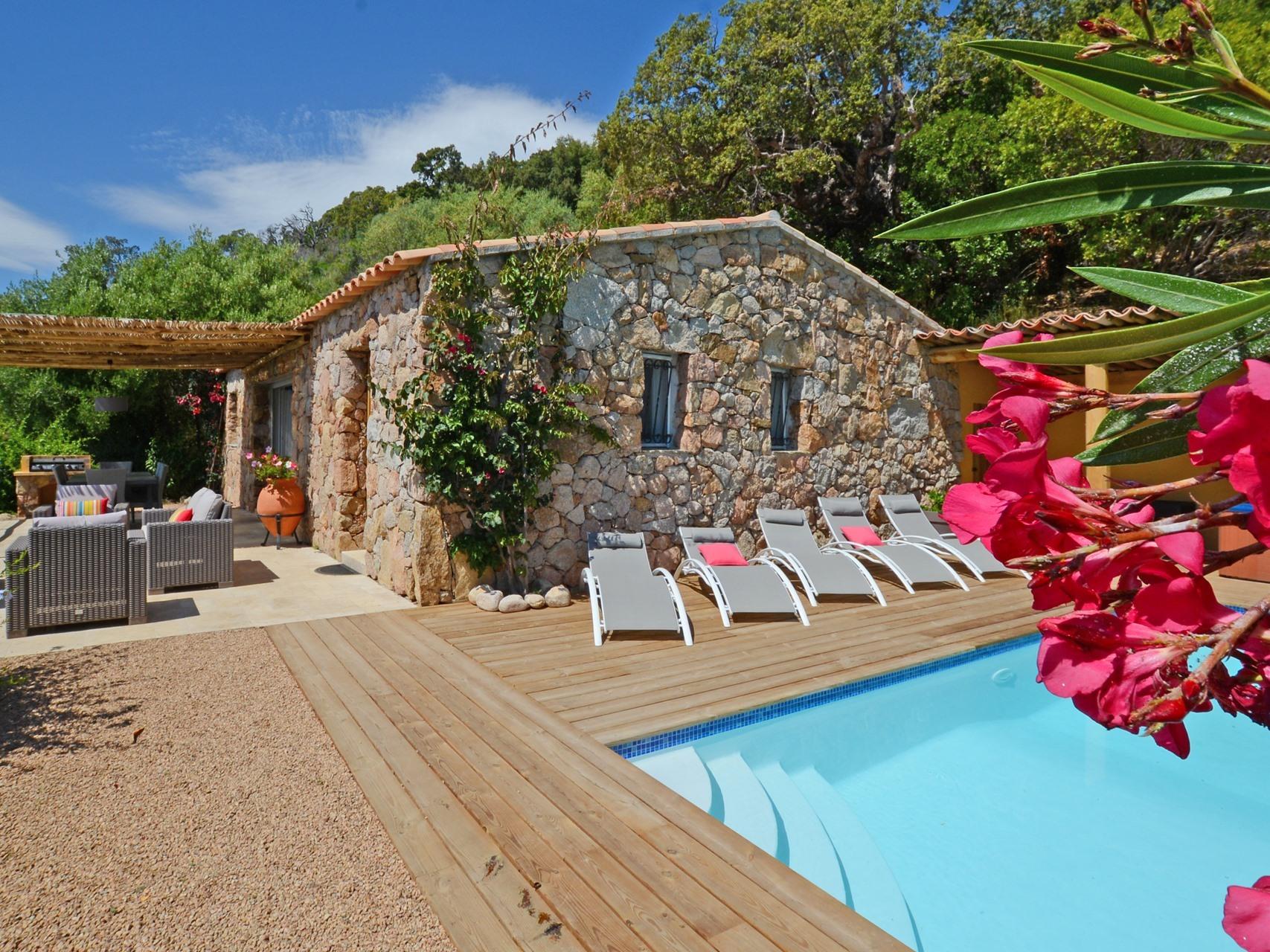 Villa-Salle de bain privée séparée-Vue mer-9