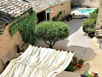 Terrasse - cour - piscine