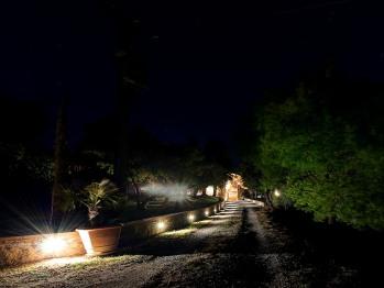Il Casale di sera