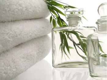 Soft snowy white large bath sheets to pamper yourself with!