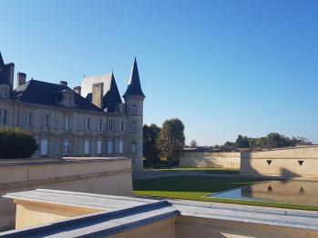 Visite du Château Pichon Baron, notre voisin, 2d grand cru classé de Pauillac