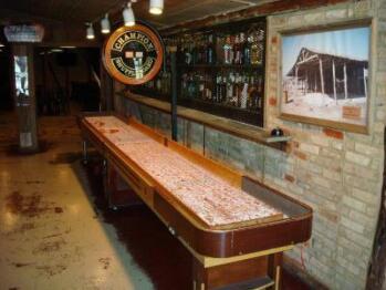 Tavern in the Gruene - Shuffleboard Table