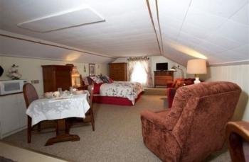 Living area in Carriage Huse