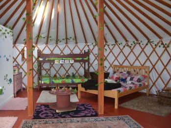 Kids Love Yurts -