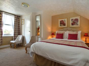 On of the standard double rooms at The Westgate Torquay