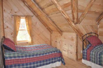 Loft Bedroom Deer