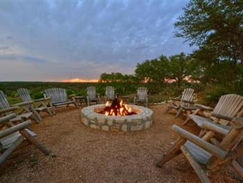 Firepit at Main Inn
