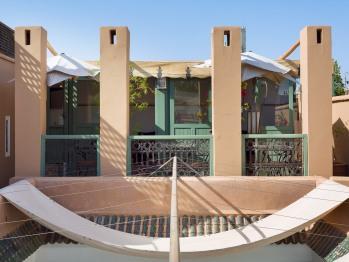 Vue du Salon sur la terrasse