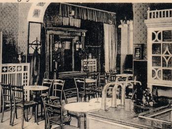 Restaurant um 1913