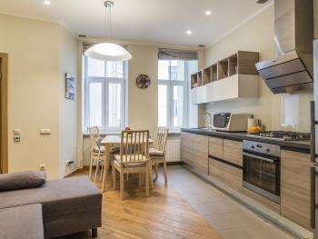 Heart of Riga Apartment - Dining room